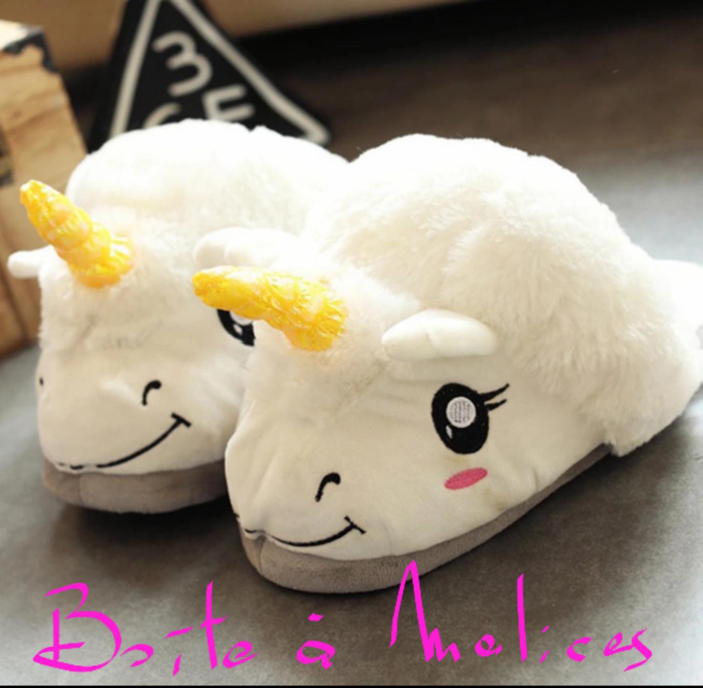 Chaussons Licornes