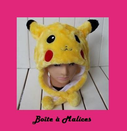 Bonnet pikachu