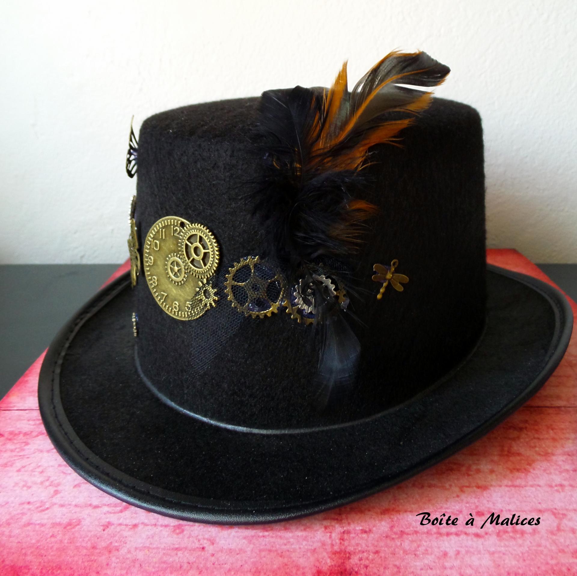 Chapeau steam papillon