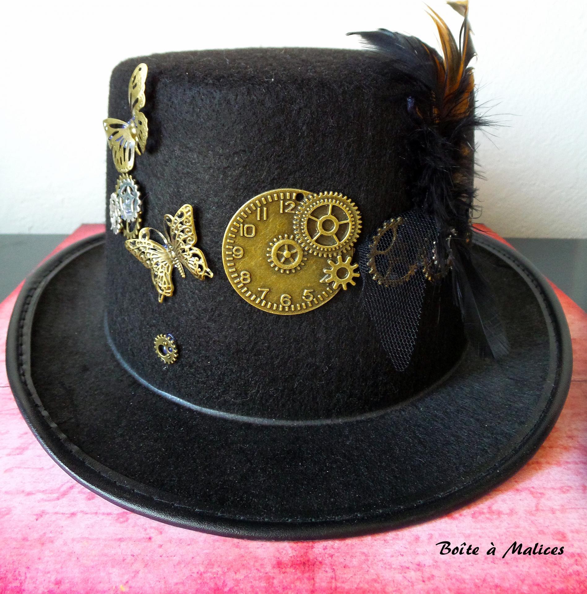 Chapeau steampunk printanier