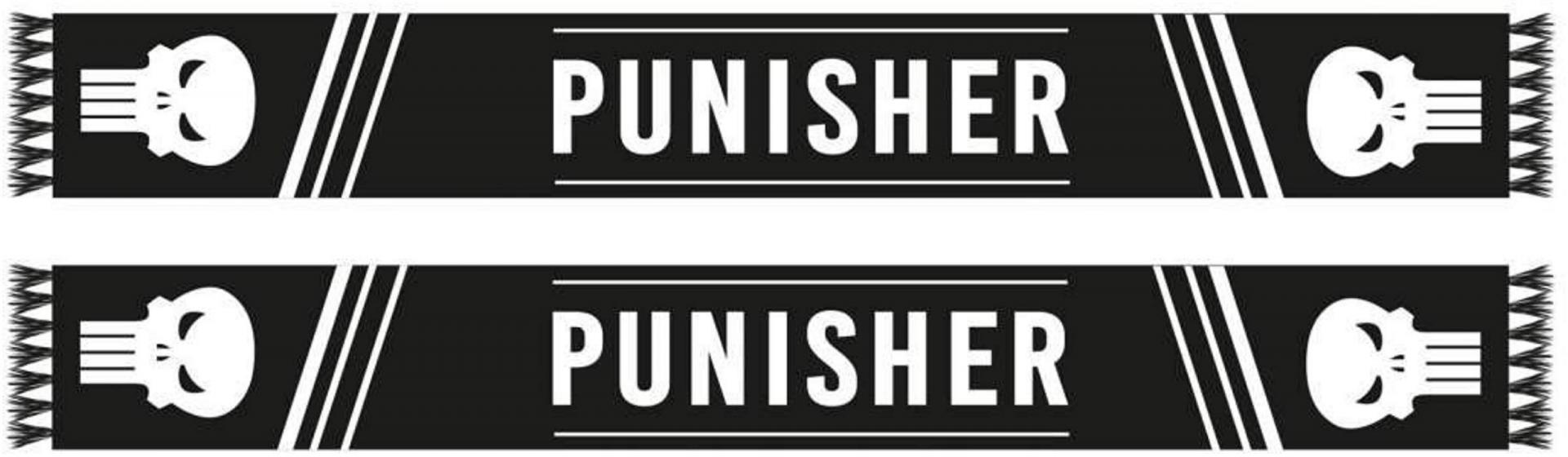 Echarpe punisher recto verso