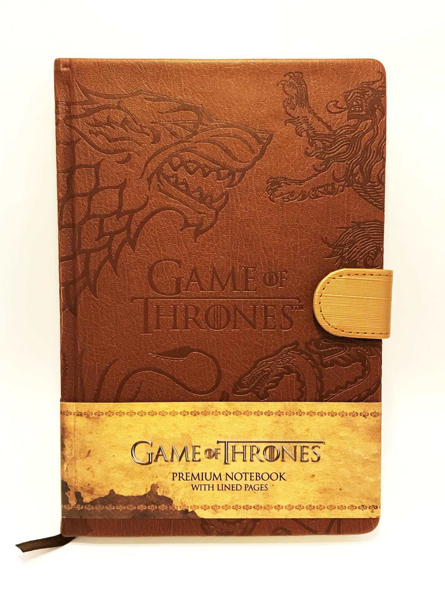 Game of thrones premium notebook a5