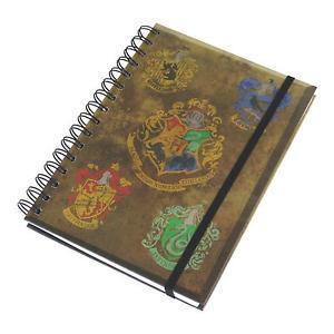 Note book poudlard