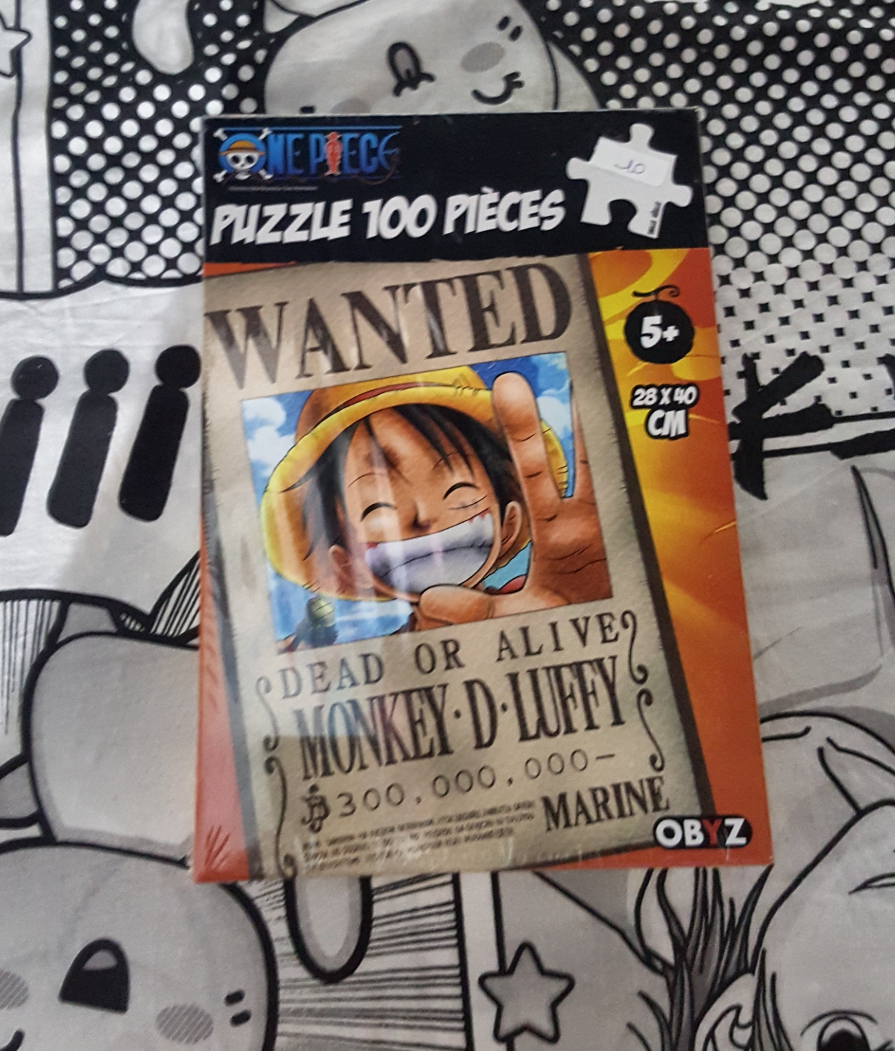 One piece luffy puzzle