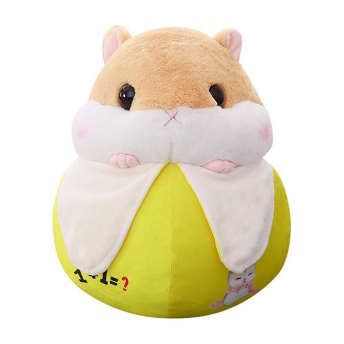 Peluche hamster banane