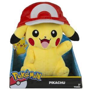 Peluche pokemon pikachu casquette