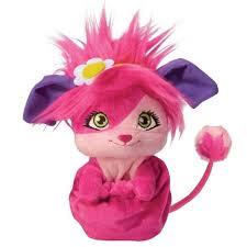 Peluche popples rose