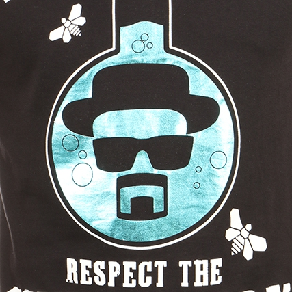 Respect the chemistery t shirt breaking bad