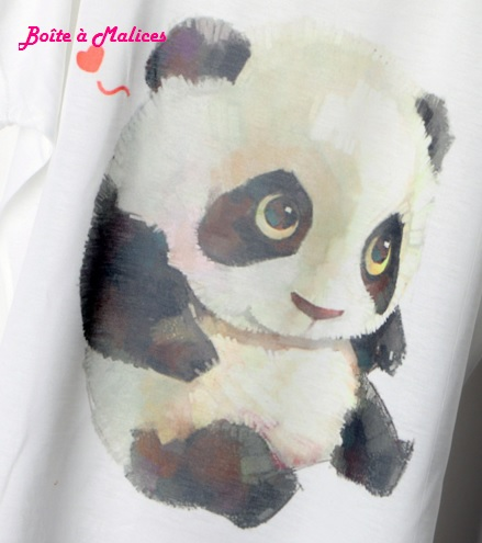 T shirt panda