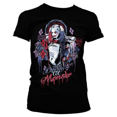 T shirt suicide squad harley quinn monster femme