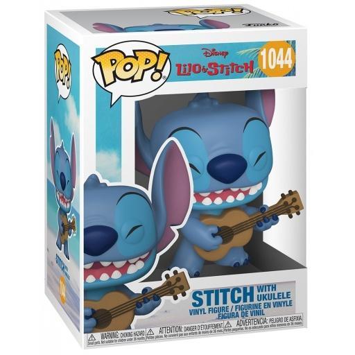 1044 figurine funko pop lilo and stitch stitch with ukelele