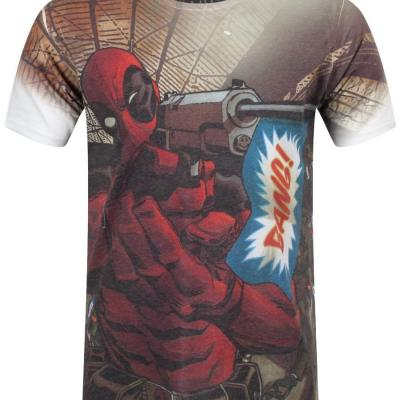 tshirt deadpool marvel