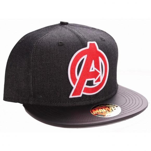 Avengers casquette snapback noire