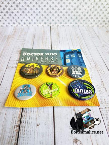 Badge dr who