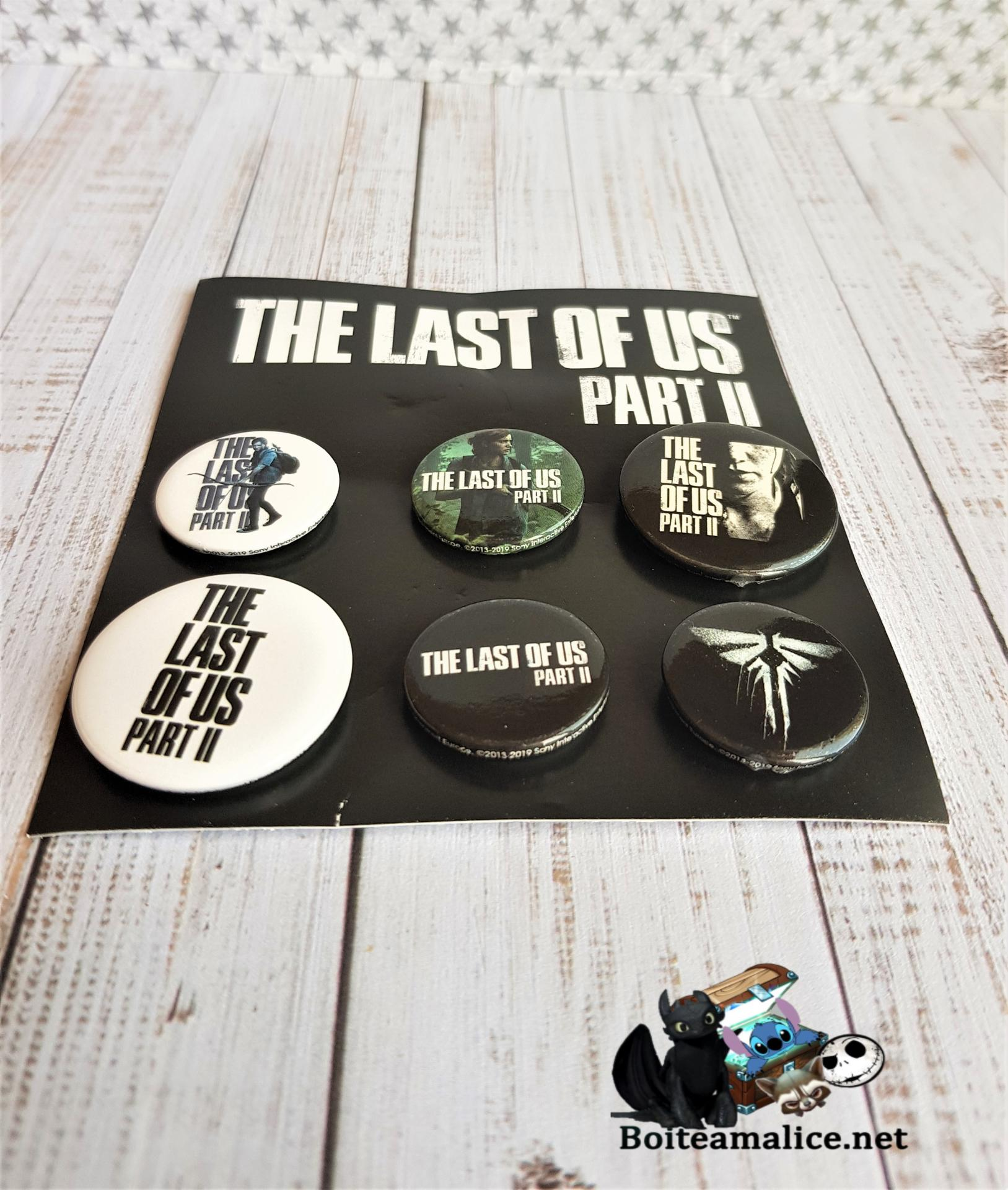 Badge the last of us