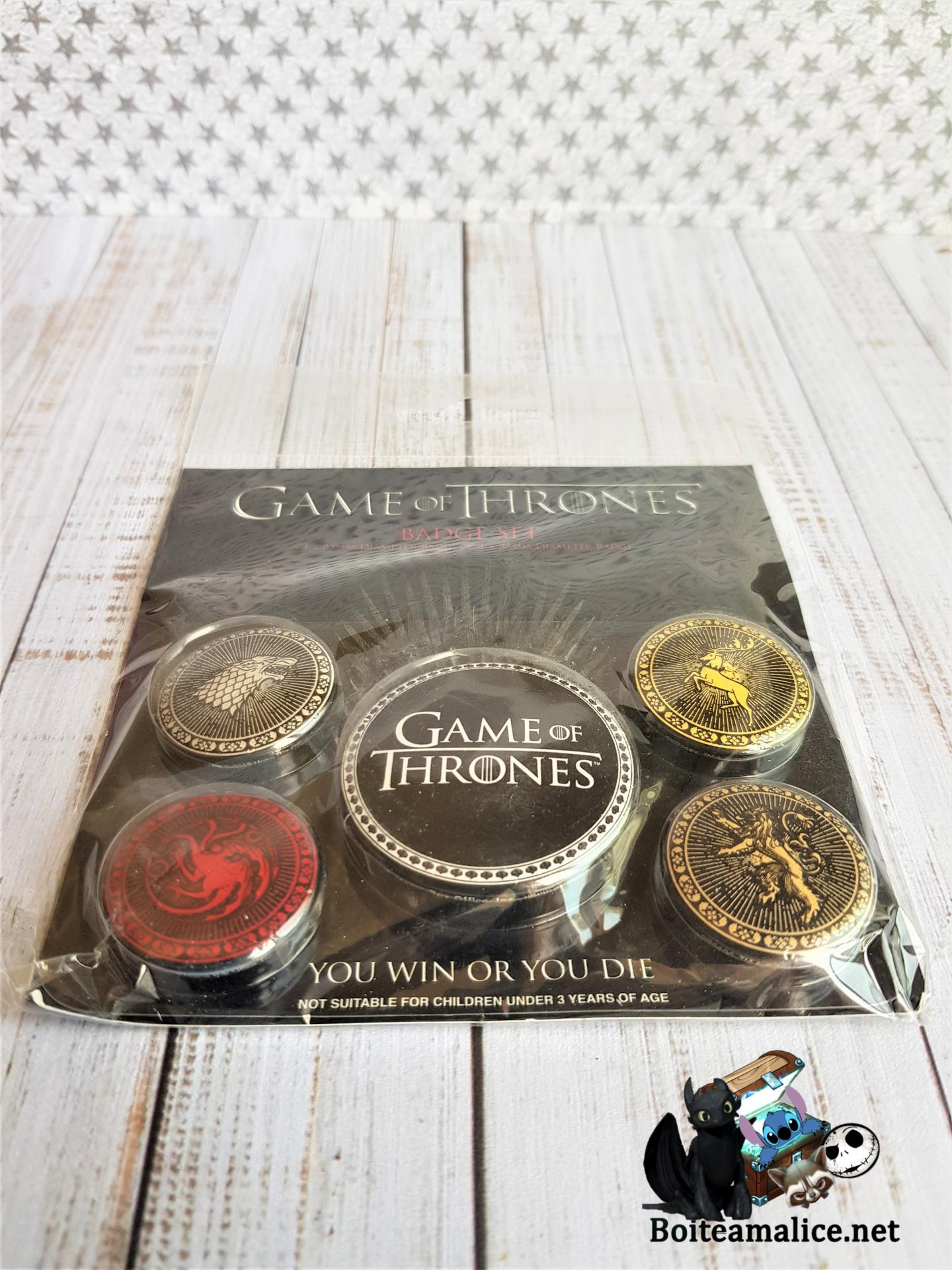 Badges game of thrones
