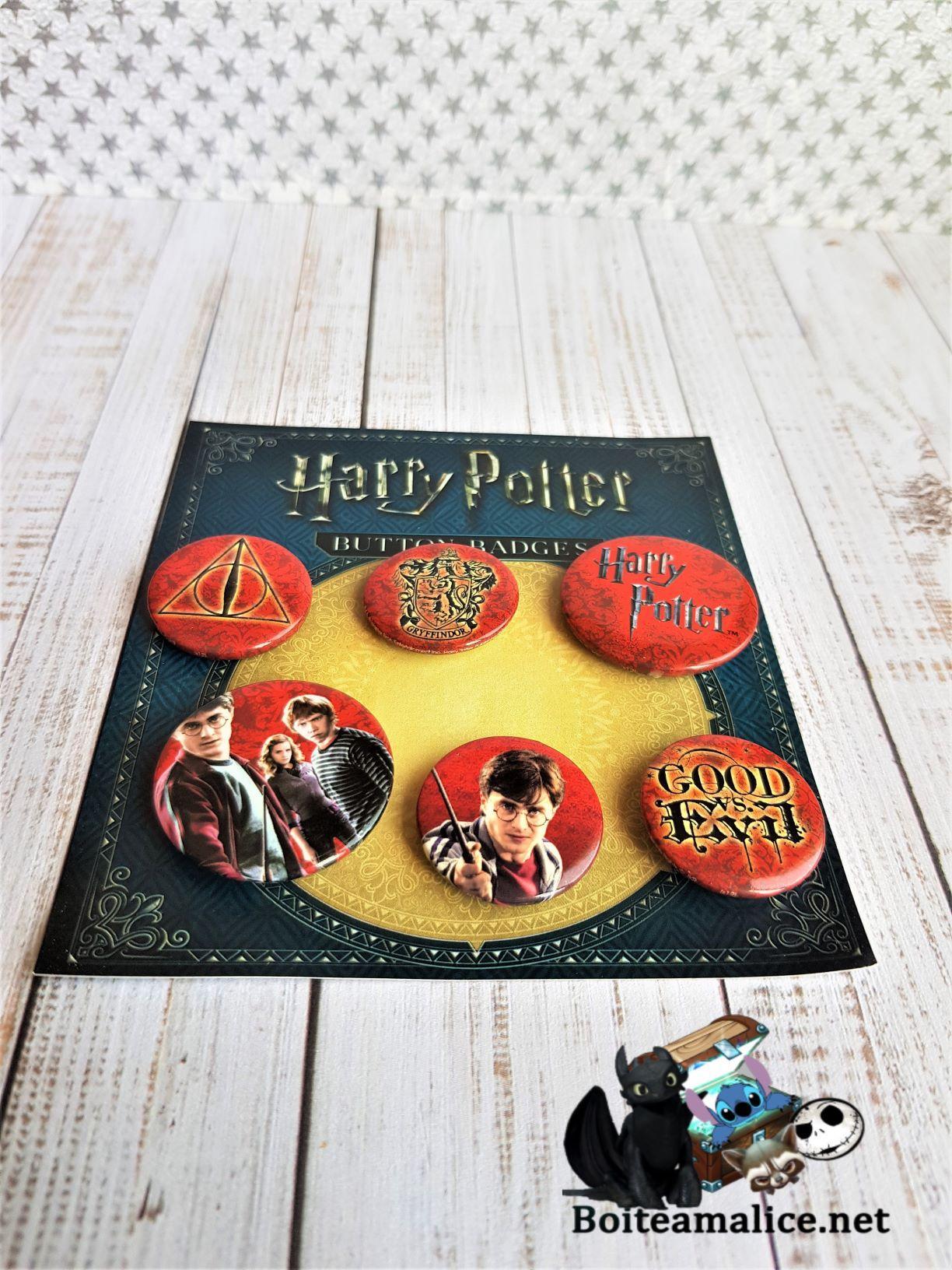 Badges harry potter 1