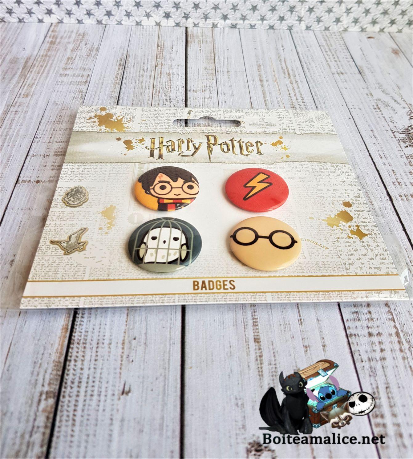 Badges harry potter