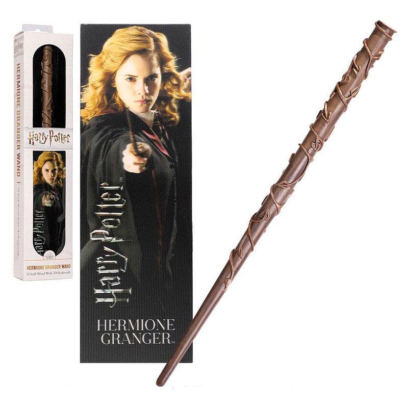 Baguette et marque page hermione harry potter