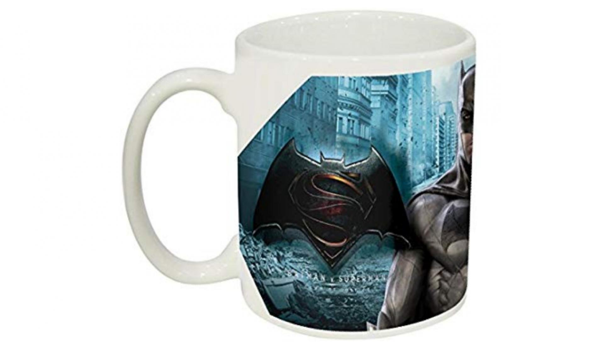 Batman vs superman mug