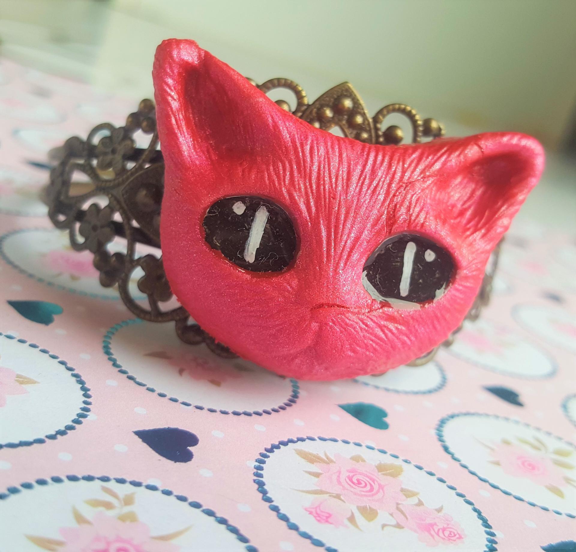 Bijoux chat fait main 2