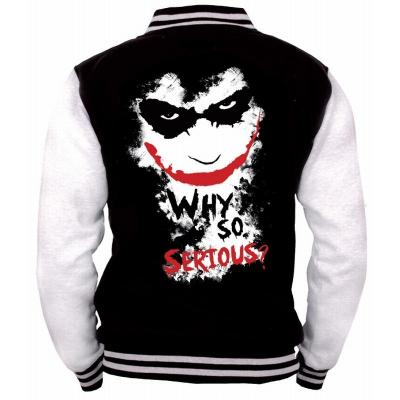 Blouson teddy joker why so serious m