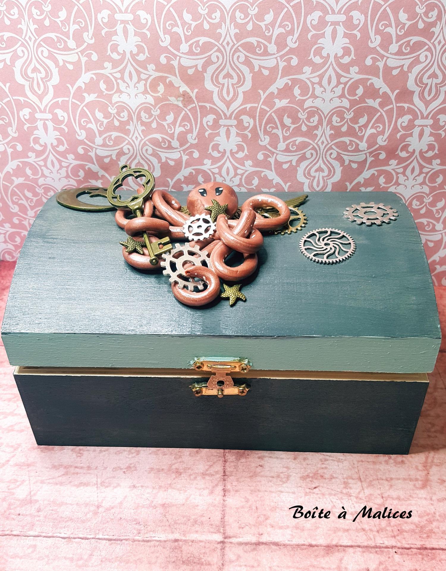 Boite a bijoux steampunk