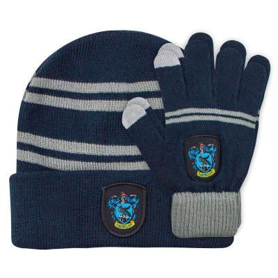 Bonnet et gants serdaigle harry potter