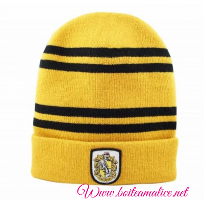 Bonnet pouffsouffle harry potter