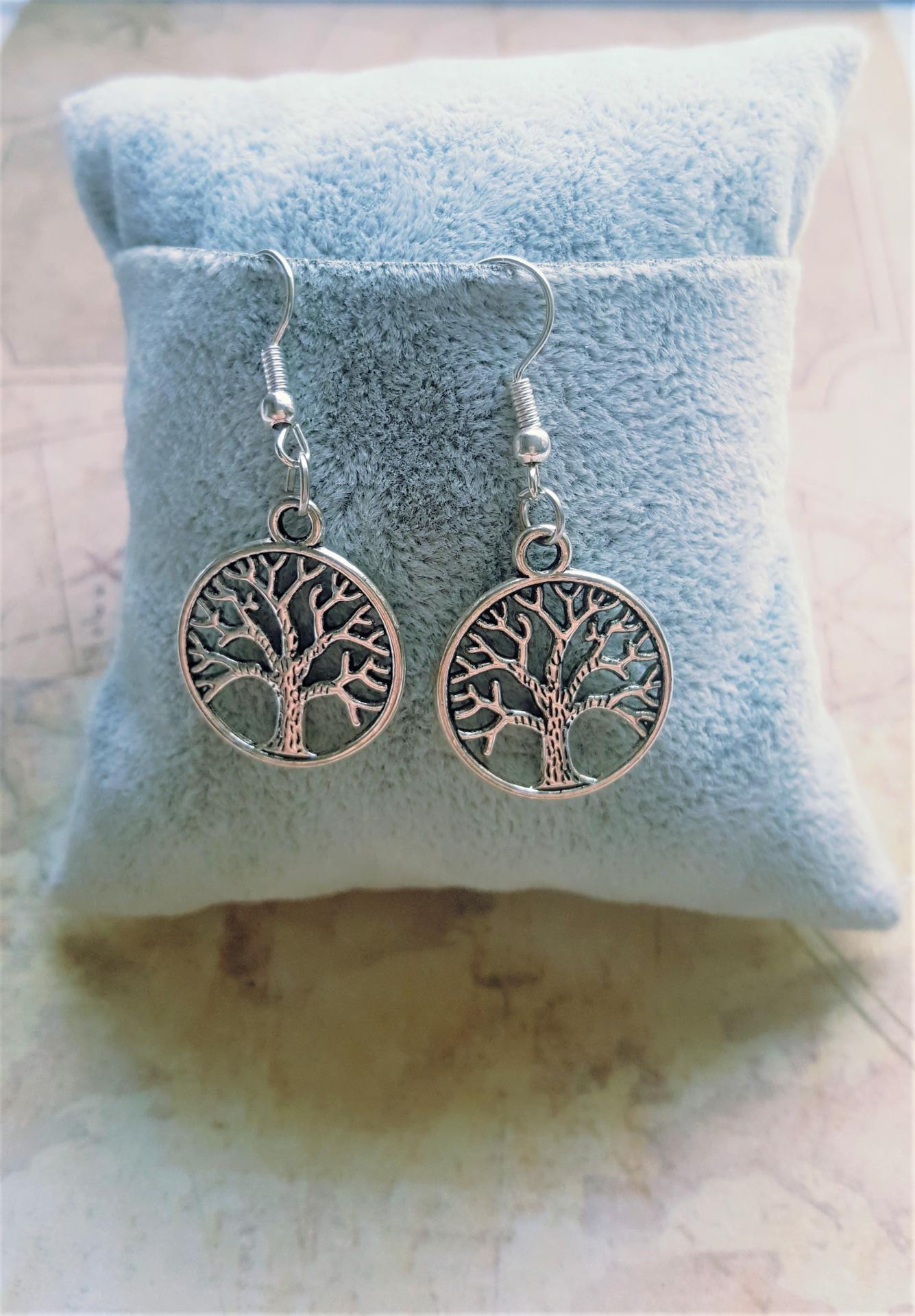 Boucles d oreille arbre de vie 1