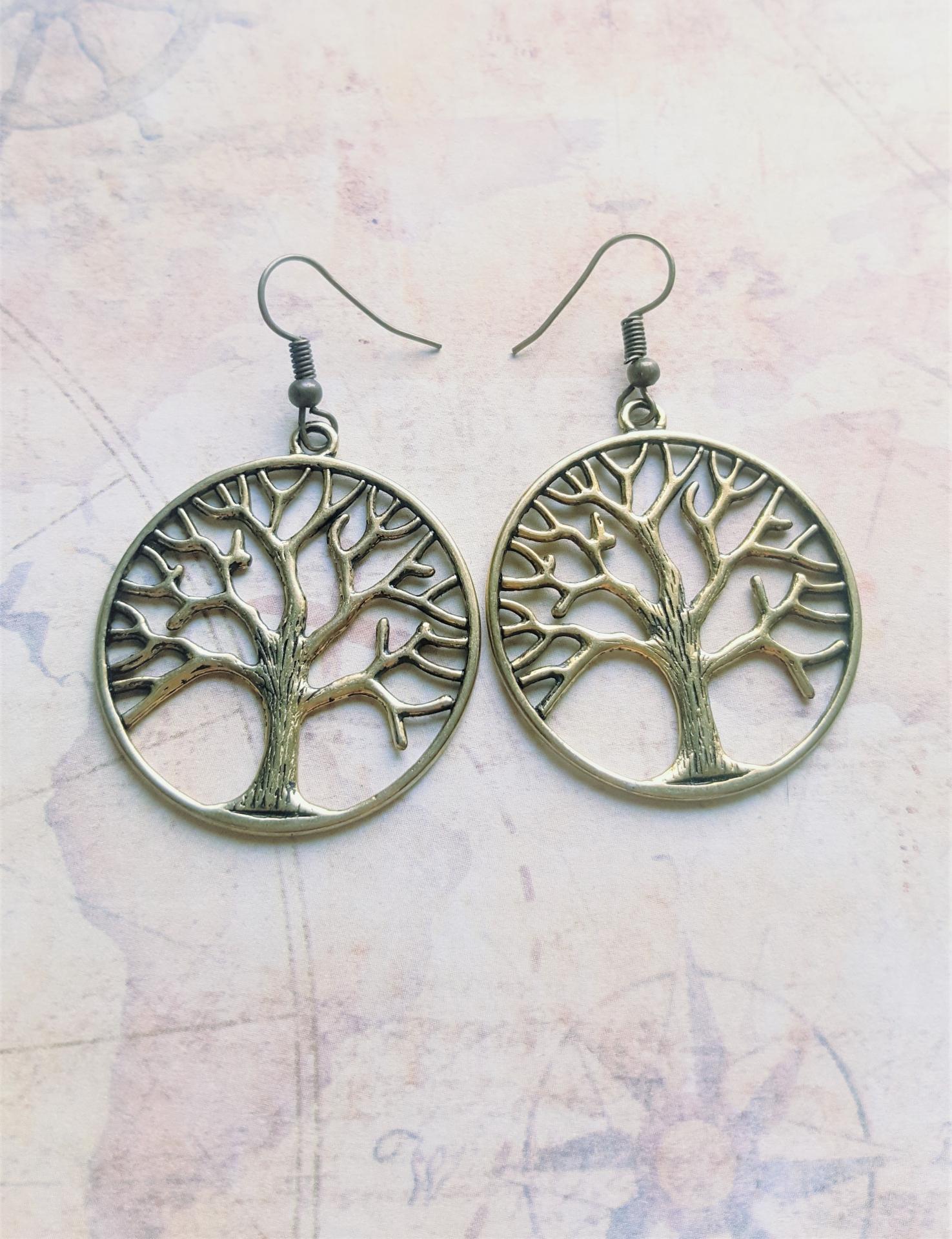 Boucles d oreille arbre de vie 2