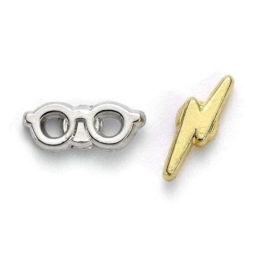 Boucles doreilles harry potter eclair lunettes