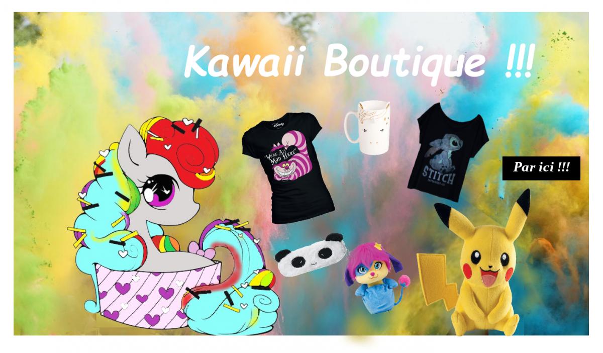 Boutique kawaii par ici