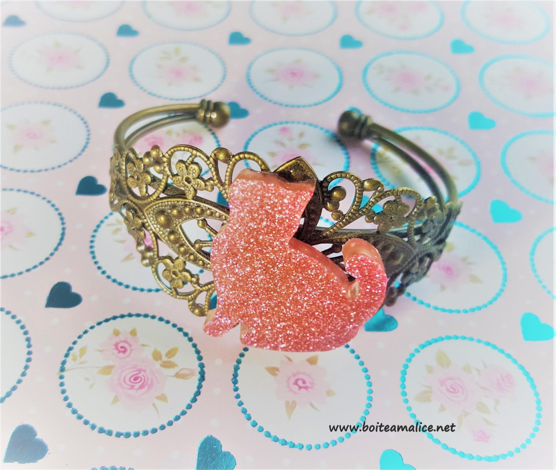 Bracelet chat 5