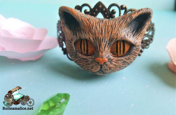 Bracelet chat bijou