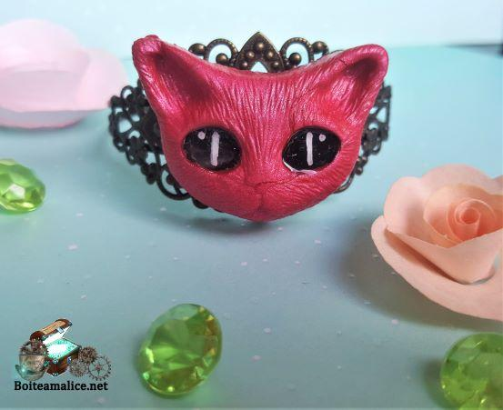 Bracelet chat bijoux chat