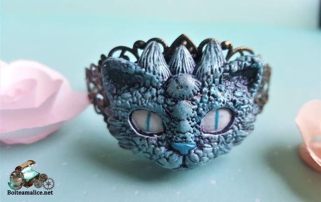 Bracelet chat dragon bijoux femme