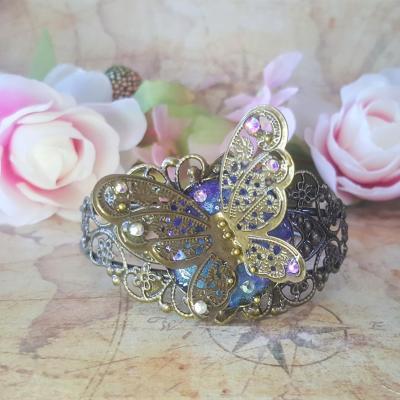 Bracelet chic papillon