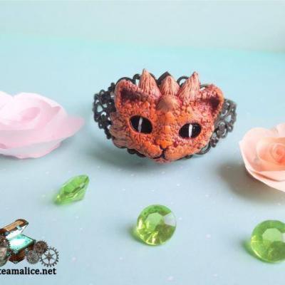 Bracelet dragon bijou femme 1