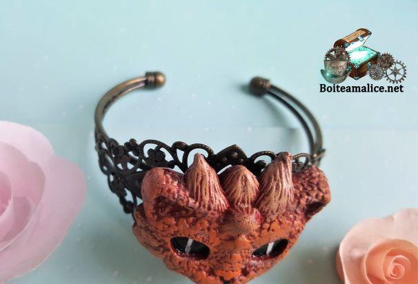 Bracelet med dragon femme