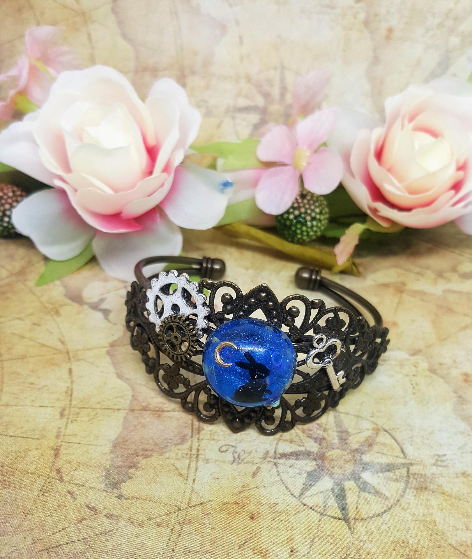 Bracelet vintage lapin