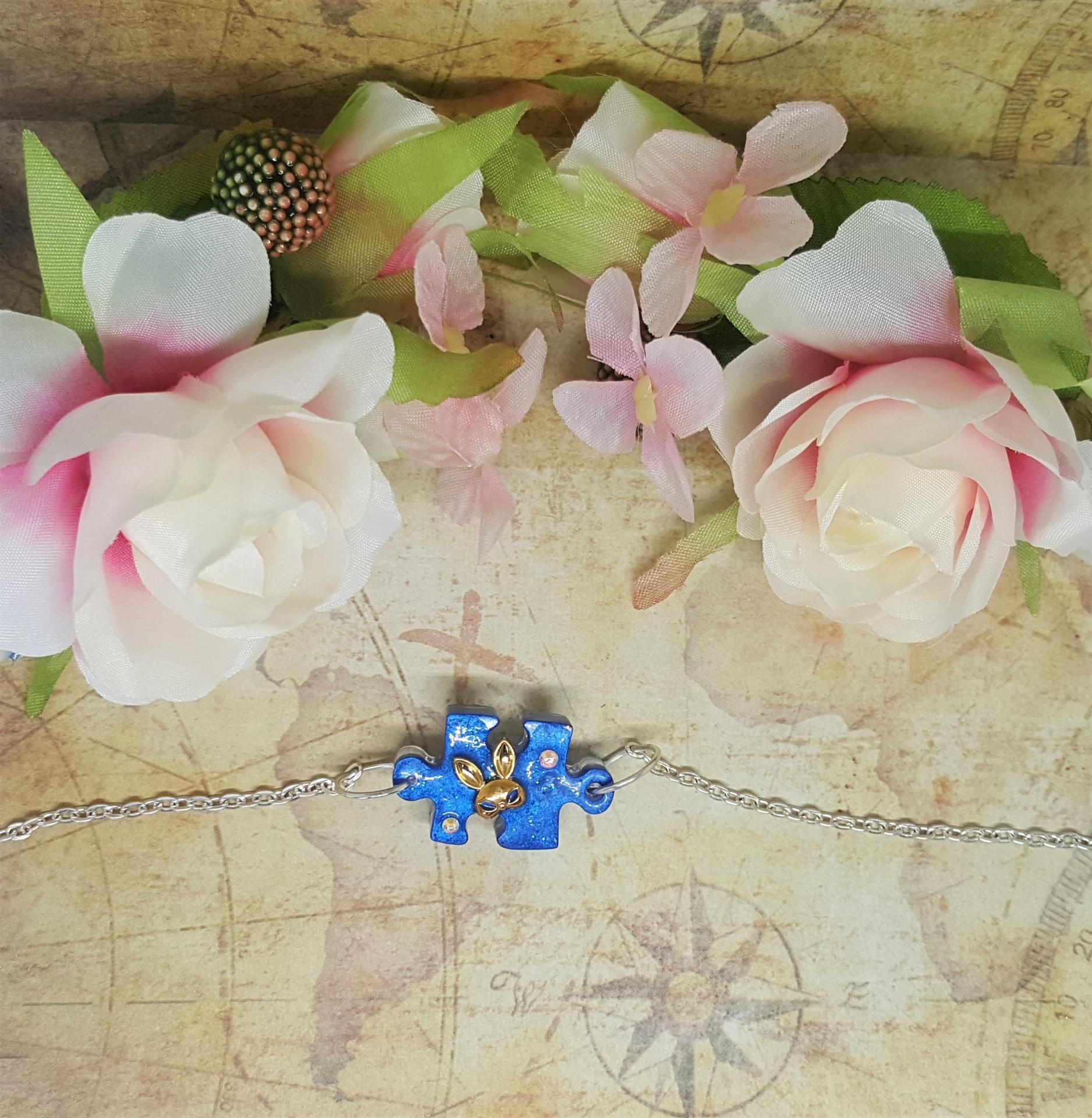 Bracelet vintage puzzle