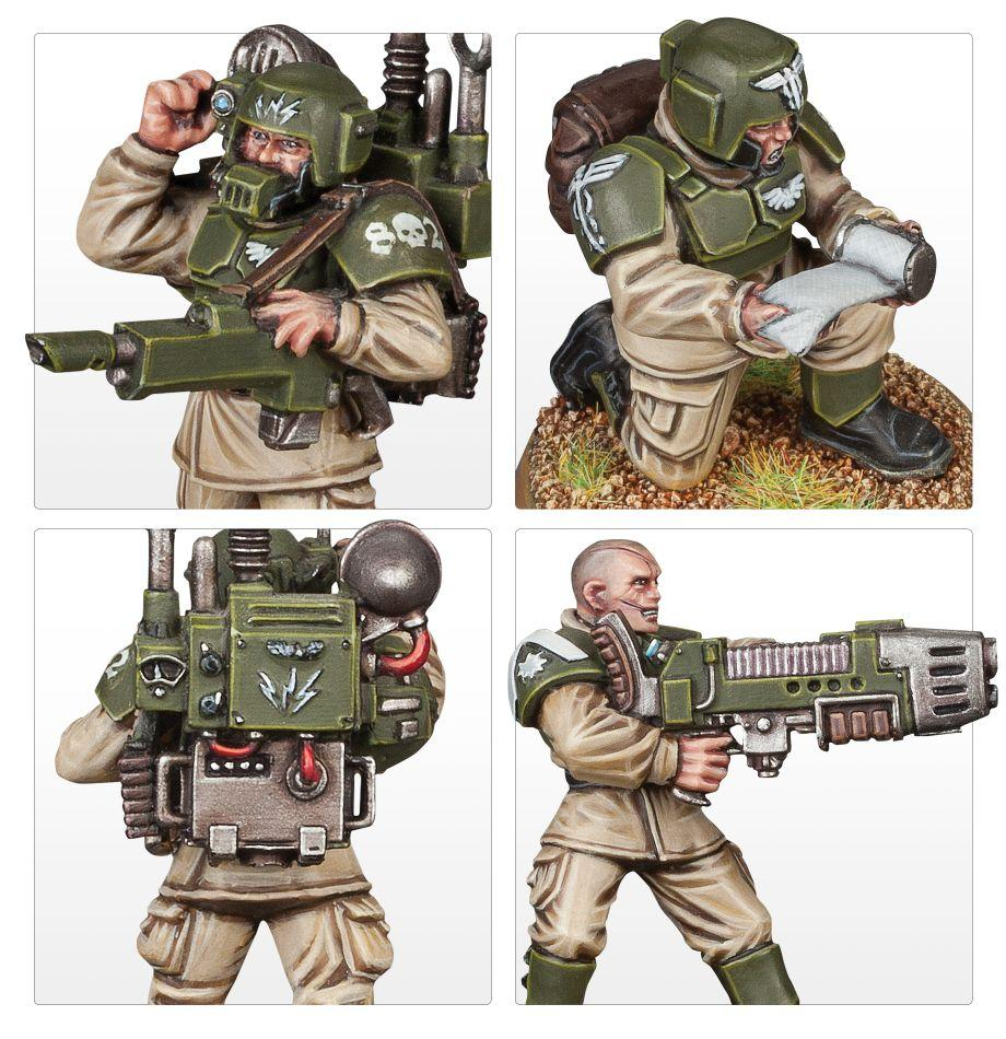 Cadian command squad warhammer