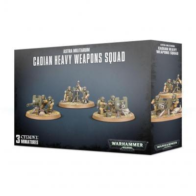 Cadian heavy weapons warhammer 40k