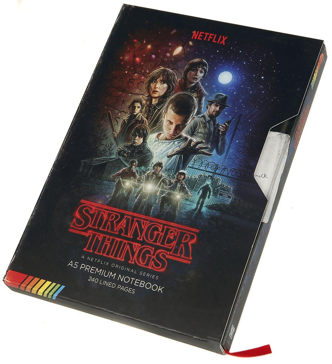 Cahier a5 premium stranger things