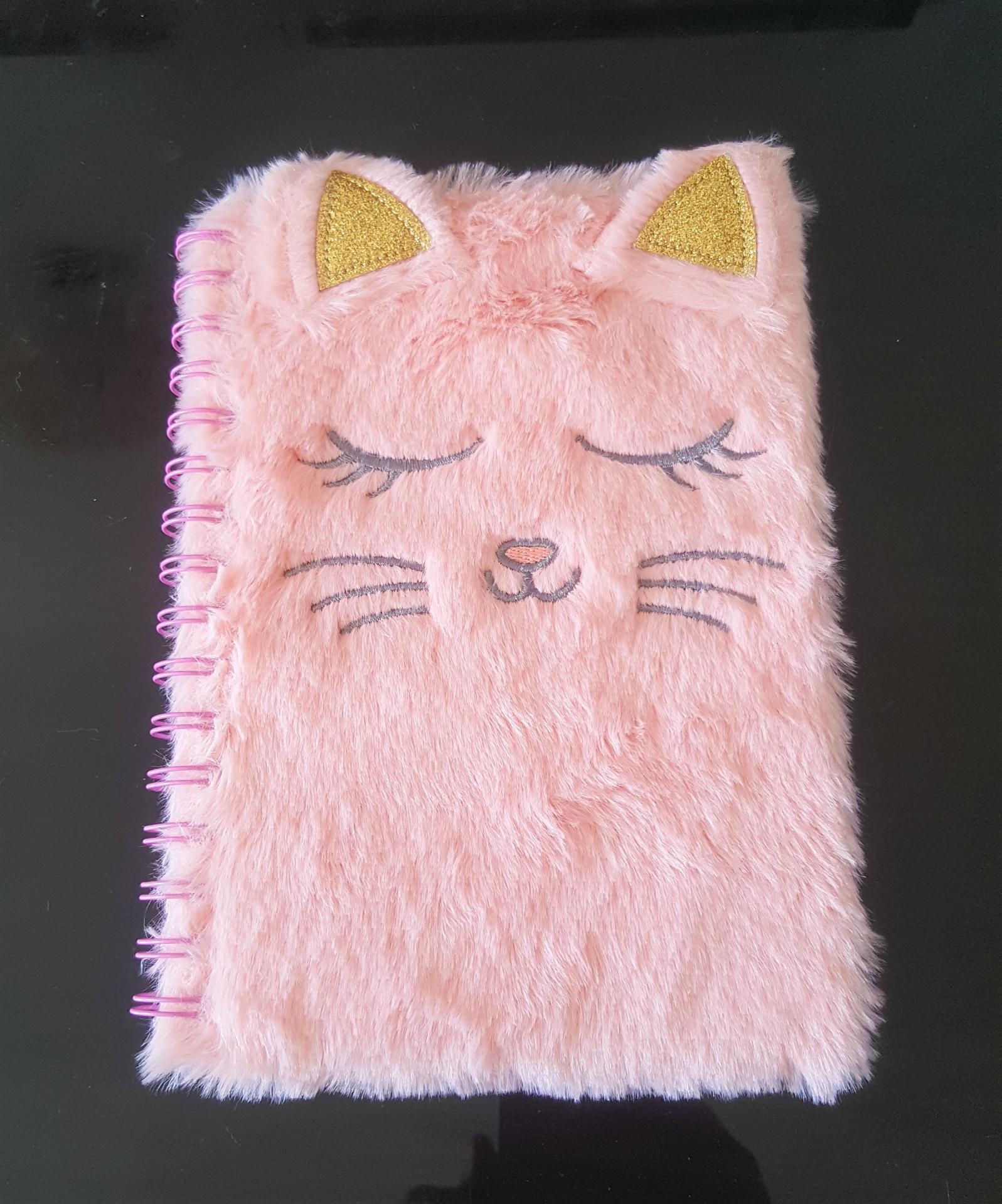 Cahier chat kawaii