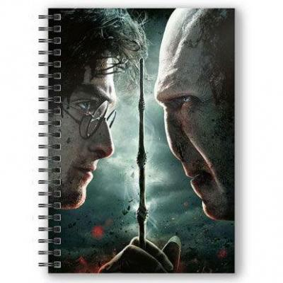 Cahier harry contre voldemort a5 3d