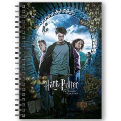 Cahier harry potter ron et hermione a5 3d