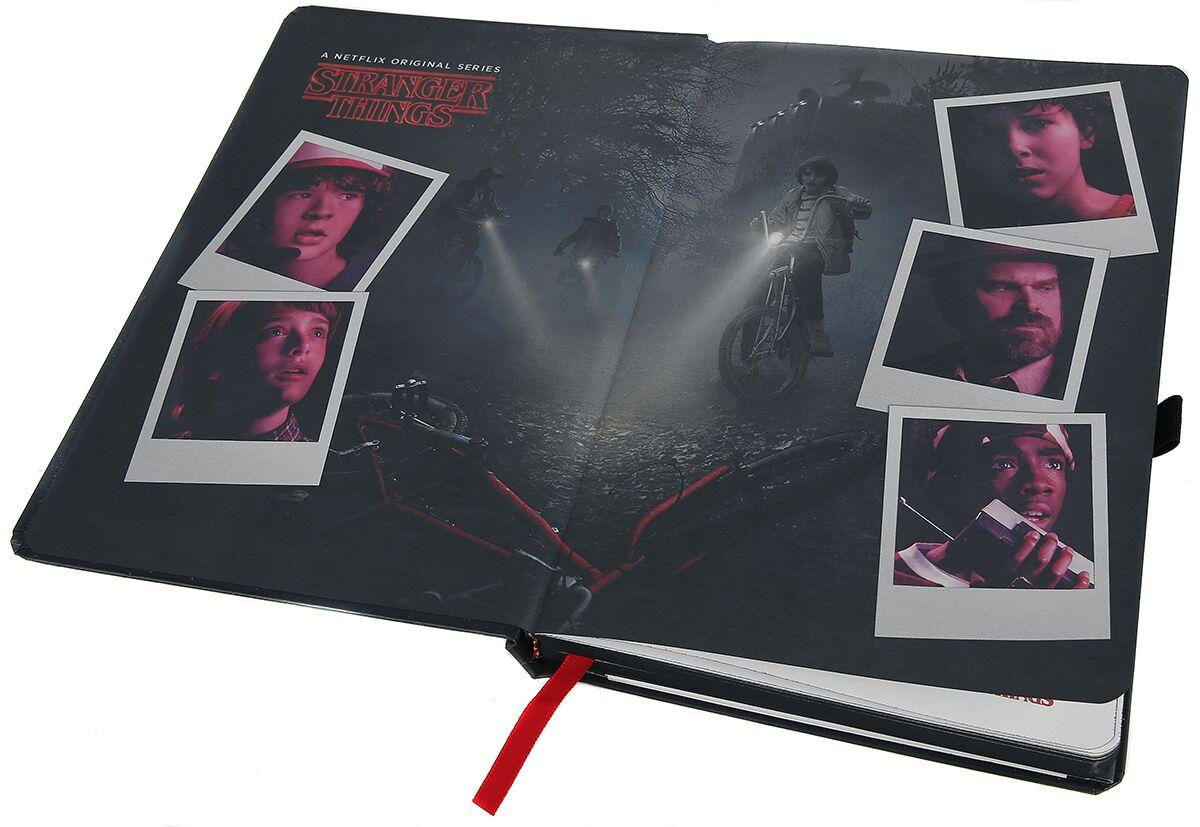 Cahier stranger things 3