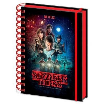 Cahier stranger things